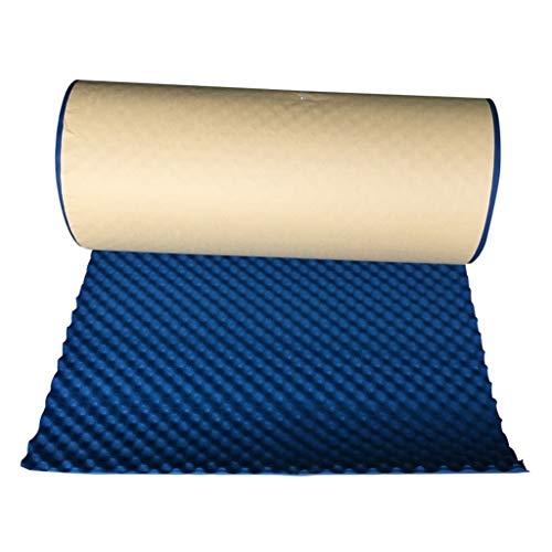 Geräuschreduzierendes Material Blau schallabsorbierende Baumwolle, High Density Portable Sound Isoliermatte Hotel Besprechungszimmer Acoustic Panels Größe: 1 * 5M Rohre, die im Badezimmer verwendet we