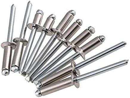 Rebite Pop Repuxo Alumínio 419-4,0x 19,0mm 100pçs