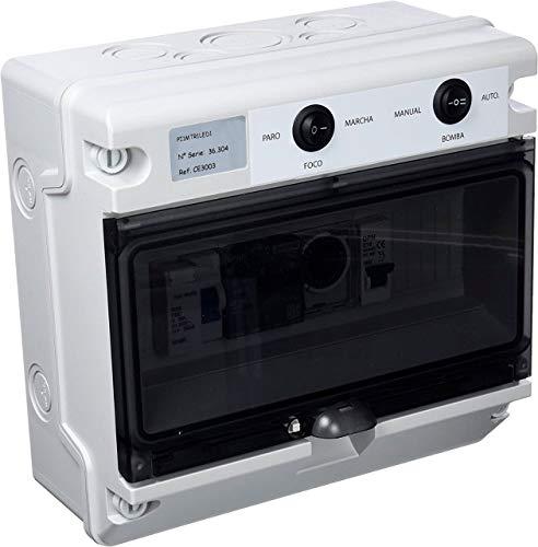 Swimhome Cuadro electrico para Piscina con trasformador y Control Remoto RGB
