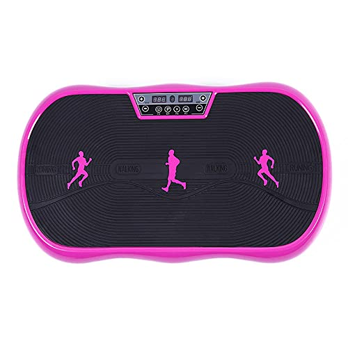 Eantpure Plataforma vibratoria,Máquina de Adelgazamiento Inteligente Shake Body Shaping-Purple,Mã¡Quinas de Cardio para Fitness