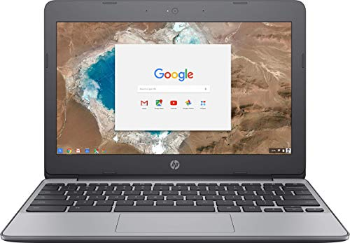 HP Chromebook - 11-v032nr 11.6 in 4GB RAM 16GB eMMC Laptop - Ash Gray (Renewed)