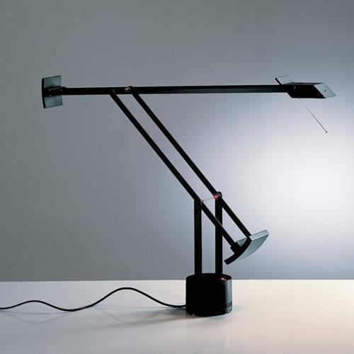 Artemide Tizio Leuchte, Höhe max 119 Länge 78 cm, schwarz