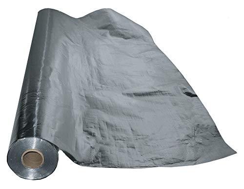 US Energy Products 270 sqft (3ft x 90ft) Aluminum Foil Radiant Barrier Insulation Sauna Vapor Barrier Waterproof Strong Scrim Reinforced Water Proof