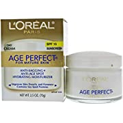 LOreal Age Perfect Anti-Sagging & Ultra Hydrating Day Cream SPF 15 for Unisex Cream 2.5 oz