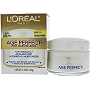 LOreal Age Perfect Anti-Sagging & Ultra Hydrating Day Cream SPF 15 for Unisex Cream 2.5 oz