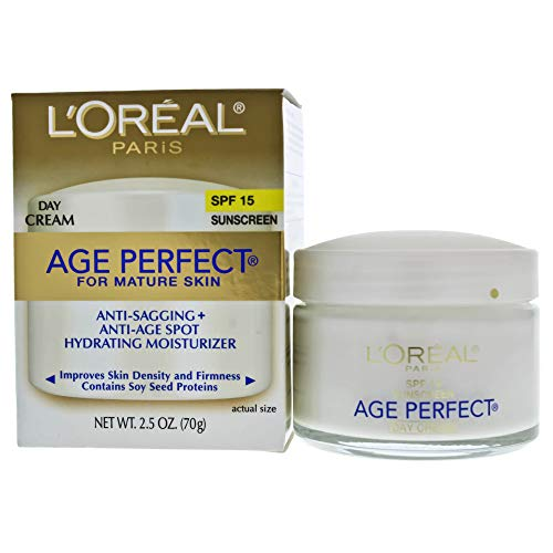 L'Oreal Paris Age Perfect Anti-Sagging + Even Tone Moisturizer - SPF 15 - 2.5oz