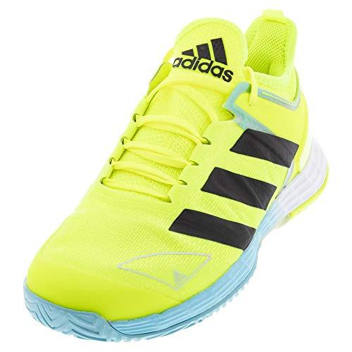 adidas Adizero Ubersonic 4 Solar Yellow/Black/Hazy Sky 9.5 D (M)