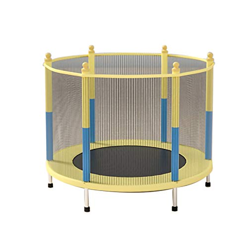 YYLL Trampoline with Safety Enclosure Net for Kids Outdoor Bounce Fitness Toys for Child Inter-active Game (Color : 1.2m)