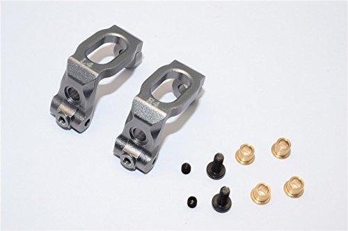 HPI Sport 3 Flux Tuning Teile Aluminium Front C-Hub - 1Pr Gray Silver