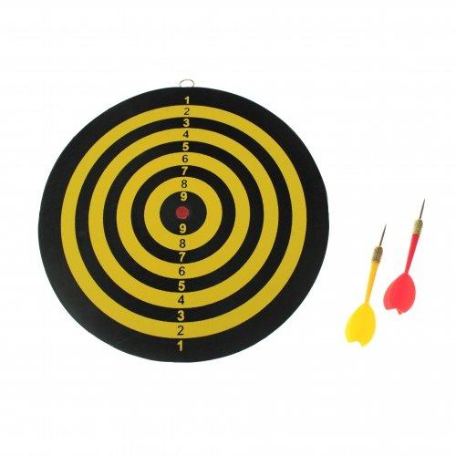 G8DS® Dartscheibe Dartspiel Der Klassiker 25 cm inkl 2 Dartpfeile