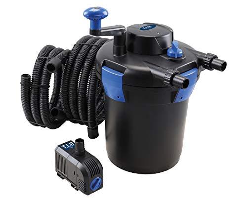 T.I.P. TFP 5000 UV 9 Teichdruckfilter/Teichaußenfilter, Schwarz