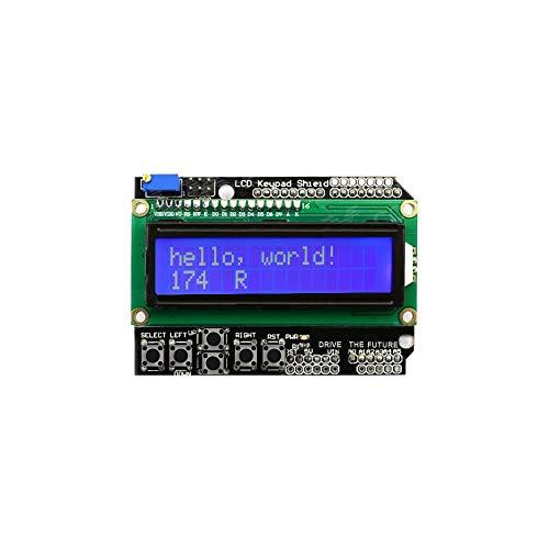 GAOSIYU 1602 Module Display LCD Keypad Shield LCD1602 LCD for ATMEGA328 ATMEGA2560 raspberry pi blue screen