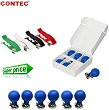 Adult Limb and Chest Suction Electrodes 3.0/4.0 for CONTEC ECG EKG Machine