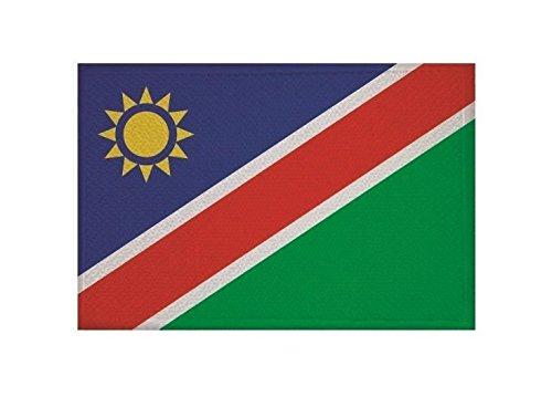 U24 Aufnäher Namibia Fahne Flagge Aufbügler Patch 9 x 6 cm