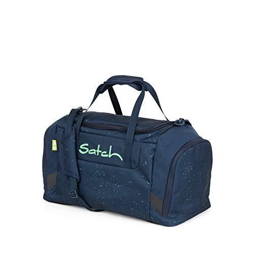 Satch Sporttasche - 25l, Schuhfach, gepolsterte Schultergurte - Space Race - Blau