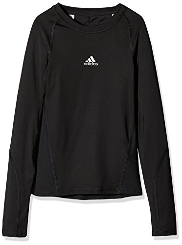 adidas Kinder Alphaskin Longsleeve Funktions Shirt, Black, 140