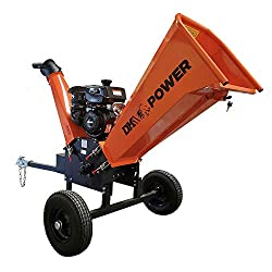 commercial Part K2, 6 inch, 14 HP, Kohler petrol engine, commercial shredder with trailer coupling dr wood chipper
