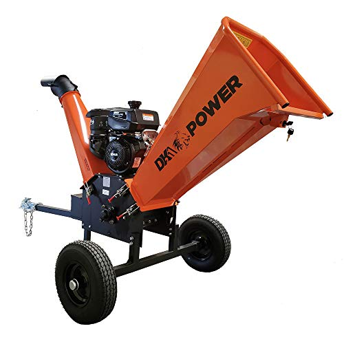 Detail K2 6inch 14HP Gas Powered Kohler Engine Commercial Chipper with Tow Hitch