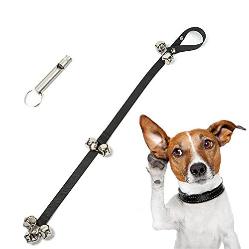 GUMIKE Dog Doorbells Adjustable Dog Training Bells for Door Knob, 7 Extra...