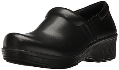 Dr. Scholl's Shoes Women's Dynamo Work Shoe, Black, 8.5 M US
