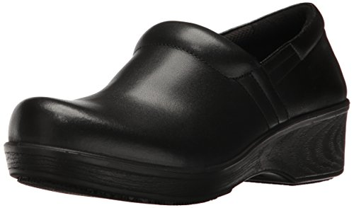 Dr. Scholl's Shoes Women's Dynamo Work Shoe, Black, 8 W US