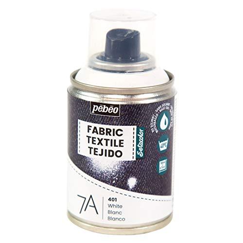 Pébéo - Blätter Schablone 7A für Textilgestaltung - Haftet auf den meisten Stoffen - Fehlerfreie Anwendung - Ideal auf gewölbten Oberfläche - Textil Schablone - Größe 15 x 15 cm
