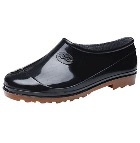Xinwcang Hommes & Femmes Chaussure de Jardinage Imperméables Unisexe Jardin Bottines Cheville Bottine de Chelsea Boots comme Image Asia 42