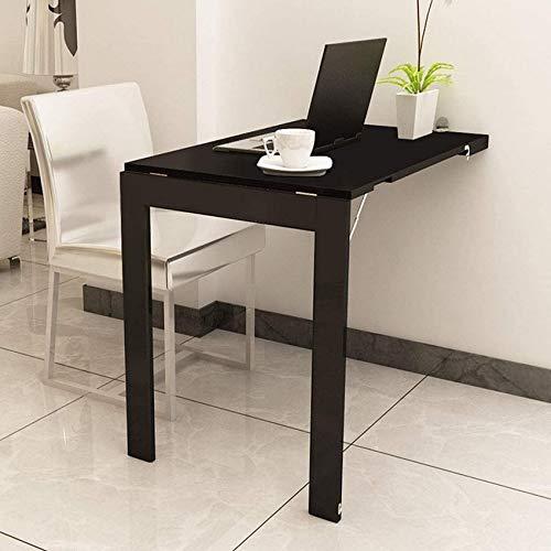 LJYY Mesa Plegable Multifuncional, pequeña Mesa de Comedor Simple para el hogar, Mesa de computadora Simple, cojinete de 180 KG, 90 Veces; 60 Veces; 75 CM