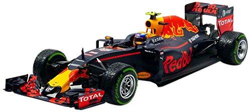Minichamps 117161233 – Vehículo en Miniatura – Red Bull Tag Heuer RB12 – 3 TH Plaza Brazilian GP 2016 Azul Mate/Rojo/Amarillo Escala 1/18