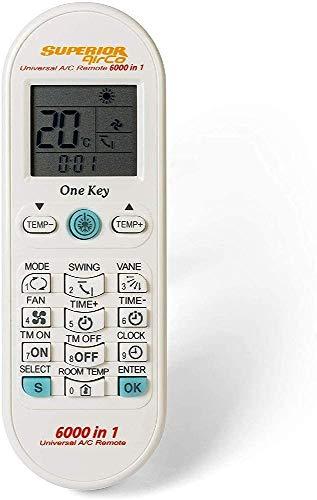 Superior Electronics Airco 6000in1 SUPCU003 - Mando universal para acondicionadores de aire con el mayor database