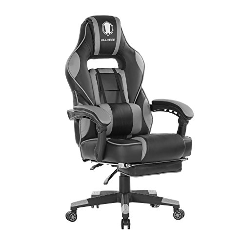 KILLABEE Massage Gaming Chair High Back PU Leather PC Racing Computer Desk Office Swivel Recliner...