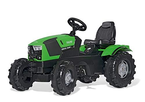 Rolly Toys rollyFarmtrac Deutz-Fahr 5120 (für Kinder im Alter von 3 – 8 Jahre, Sitz verstellbar, Flüsterlaufreifen) 601240