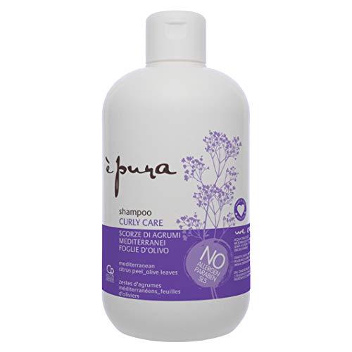 È Pura - Shampoo Curly Care - Trattamento per Capelli Ricci Naturali e Con Permanente - Protegge dall Effetto Crespo - 500 ml