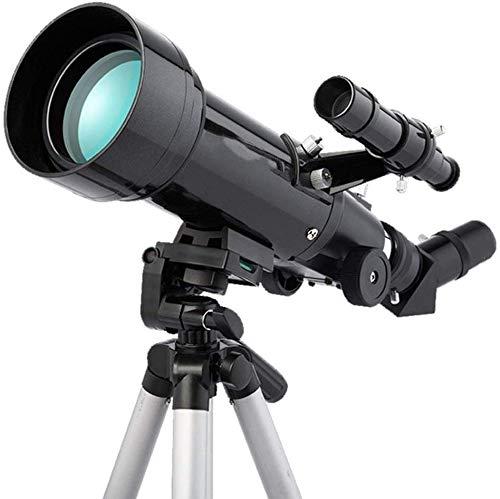 Meyeye Telescoop Astronomische Telescoop Monoculaire Telescoop Met Een Grote Caliber 70mm Geeft Kinderen Een Meer Betekenis Geschenk Reizen Scope Elescoop (Kleur : Zwart, Maat : 45.8x17.8x35.6cm)