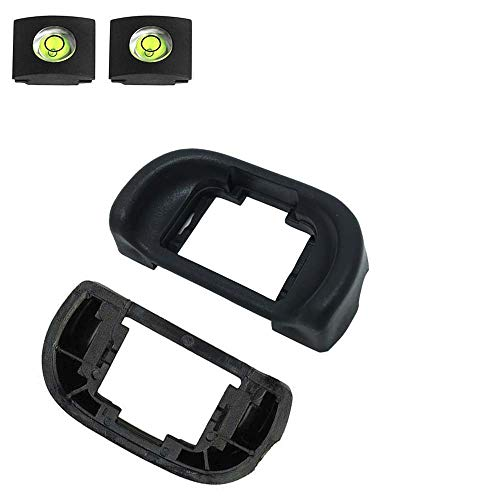 ULBTER FDA-EP11 Visor de Ojos para cámaras Sony Alpha A7 III A7 II A7R A7 A7R II (2 Unidades), Visor con Nivel de Burbuja