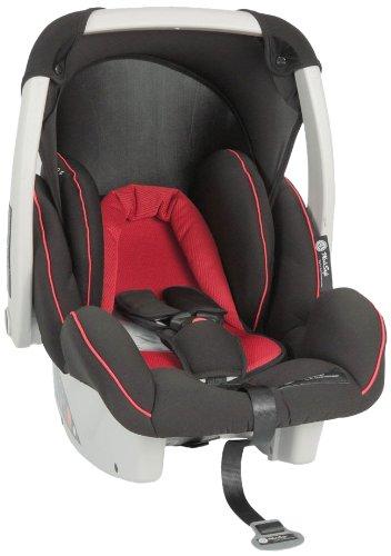 MediSafe 073414 Babyschale Cocomoon, Gruppe 0, 0-13 kg, rot-schwarz
