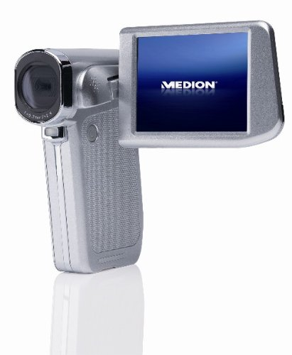 MEDION MD 86461 Full HD Camcorder mit Touchscreen Display