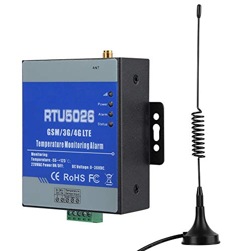 Alarma de fallo de alimentación, RTU5026 GSM circuito inalámbrico Temperatura de falla Estado de corto circuito Monitoreo de alarma(UE)