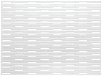 Alfombrilla silicona protector fregadero de mDesign - Color: Transparente - Tamaño: 40,6 cm x 31,75cm