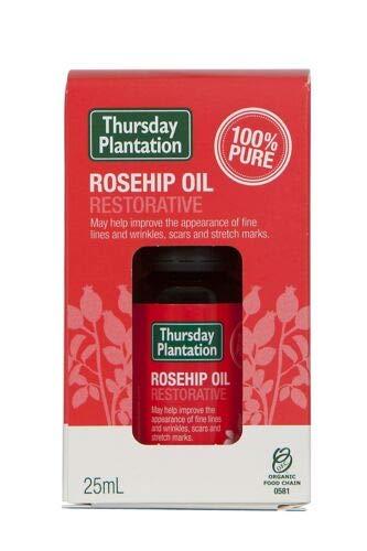 Rosehip Oil 25ml Certified Organic 100% Pure