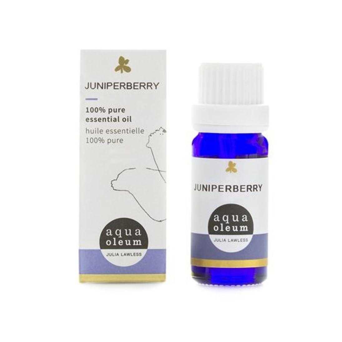 起きてヘッドレス適性アクアオレウム エッセンシャルオイル ジュニパーベリー 10ml(精油)