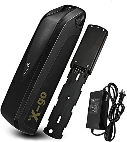 X-go 36v 10.4Ah batería batería de Bicicleta eléctrica batería de Iones de Litio para 250W 350W 500W Bicicleta eléctrica con Cargador