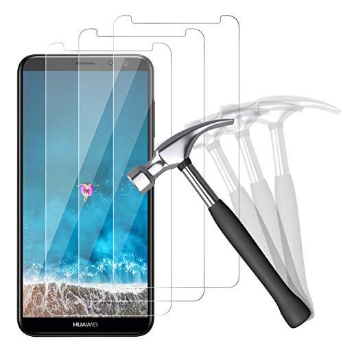 NUOCHENG Panzerglas Schutzfolie für Huawei Mate 10 Lite, [3 Stück] 9H gehärtetes Glas, Anti-Kratzer, Bläschenfrei, Ultra Transparenz Full HD, Panzerglasfolie Displayschutzfolie für Mate 10 Lite