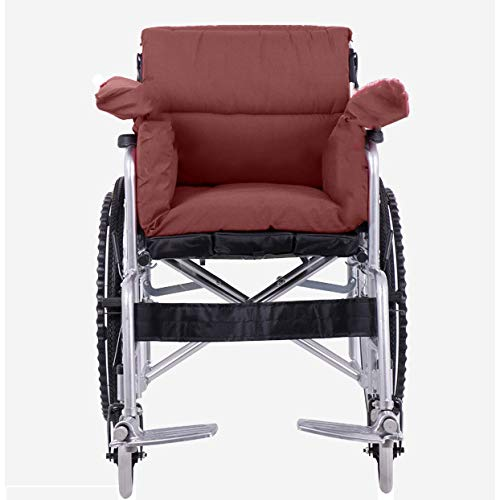 XER Soft and Portable One-Piece Pad Polyester Material Wheelchair Cushion Back Sciatica Relieve Cushion for Armchairs, Wheelchairs115100cm