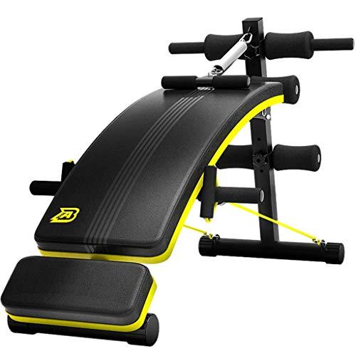FITNESH - Banco de Fitness multifunción, Tabla Abdominal, Ajustable, para Todo el Cuerpo, Equipo de Fitness