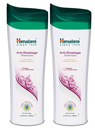 Himalaya Anti-Breakage Shampoo for Thinning or Brittle Hair and Split Ends, 13.53 oz, 2 Pack