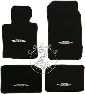 Cobra Auto Accessories Floor MATS Carpet FITS Mini John Cooper Works Countryman 2013 2014 2015 13 14 15