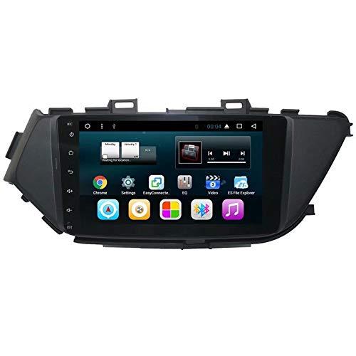 TOPNAVI 32 Go 8 Pouces 2Din Central Multimedia pour Nissan Lannia 2015 2016 2017 2018 Android 7.1 Radio de Navigation stéréo avec 2 Go de RAM WiFi 3G RDS Audio Vidéo