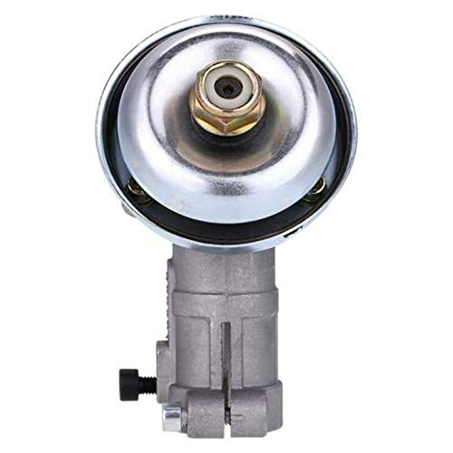 Lawn Mower Gear Head, Universal Brush Cutter Trimmer Replace Gear Head Gearhead Gearbox 26mm Diameter Square Rod