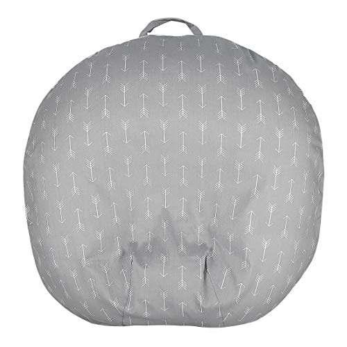 Learn More About Removable Newborn Lounger Cover 100% Soft Cotton Fits Boppy Lounger Grey Arrow